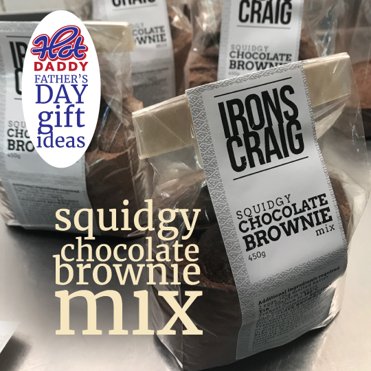 Squidgy Chocolate Brownie Mix Fathers Day