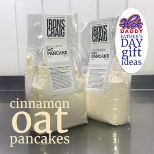 Cinnamon oat pancake mix Fathers day