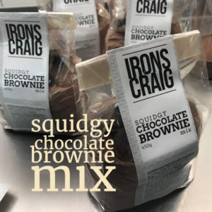 squidgy chocolate brownie mix