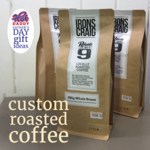 roasted coffee - fathers day