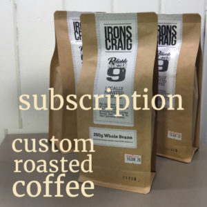 custom roasted coffee subscription service reliable no.9