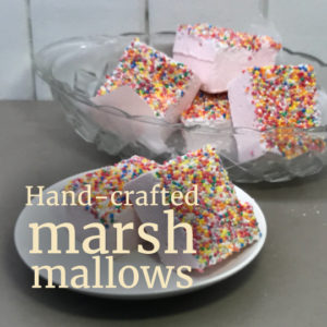 hand-crafted marshmallows