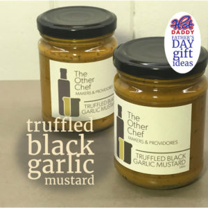 truffled black garlic mustard fathers day