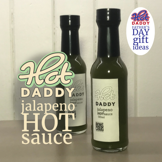 Hot Daddy Jalapeño Hot Sauce Fathers Day