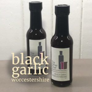 Black Garlic Worcestershire Sauce