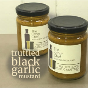 Truffled Black Garlic Mustard