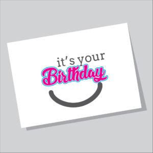 Gift card Its your birthday