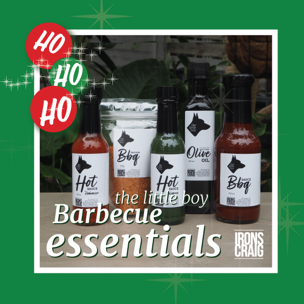 Hamper - Little Boy Bbq Essentials