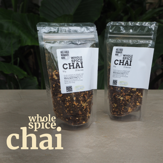 whole spice chai