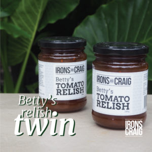 Betty's Relish Twin Pack