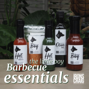 The Little Boy Barbecue Essentials