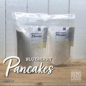 blueberry pancake 220g pack